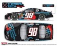 No. 98 Thermal Technology Services Ford Fusion Layout