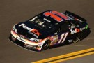 Denny Hamlin, driver of the #11 FedEx Express Toyota, practices for the NASCAR Sprint Cup Series Sprint Unlimited at Daytona International Speedway on February 14, 2014 in Daytona Beach, Florida. - Photo Credit: Todd Warshaw/Getty Images