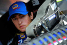 Chase Elliott, driver of the #9 NAPA AUTO PARTS Chevrolet, sits in his car during practice for the NASCAR Nationwide Series Drive To Stop Diabetes 300 at Bristol Motor Speedway on March 14, 2014 in Bristol, Tennessee. - Photo Credit: Jared C. Tilton/Getty Images