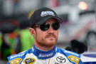 2014 NSCS Driver Brian Vickers (Aaron's) - Photo Credit: Drew Hallowell/Getty Images