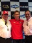 Chip Ganassi, Dylan Kwasniewski and Felix Sabates (Photo Credit: Chip Ganassi Racing with Felix Sabates)