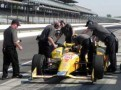 NSCS Driver Kurt Busch in the No. 1 Andretti Autosport Chevrolet During Indianapolis Motor Speedway Test on May 8th, 2013 - Photo Credit: Paul Powell/Catchfence