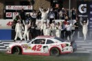 Kyle Larson Wins First Career NASCAR Nationwide Series Race In TREATMYCLOT.com 300 at Auto Club Speedway