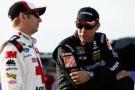 2014 NSCS Drivers Greg Biffle (3M) & Matt Kenseth (Home Depot/Husky) - Photo Credit: Jeff Zelevansky/Getty Images