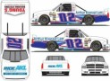 No. 02 AKL Insurance Group / Young's Building Systems Chevrolet Silverado Layout