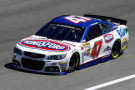 2014 NSCS Driver AJ Allmendinger on track in the No. 47 Kingsford Chevrolet SS - Photo Credit: Brian Lawdermilk/Getty Images