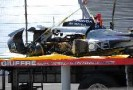 The aftermath of Kurt Busch's wreck - Photo Credit: Mike Young for IMS
