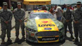 "2014 NSCS No 38 Love's Travel Stops ""Military Salute"" Ford"