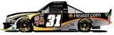 No. 31 Heater.com Chevrolet Silverado Side Layout