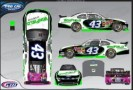 No. 43 Winfield Nationwide Children's Hospital Ford Mustang Layout