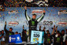 Kyle Busch, driver of the #54 Monster Energy Toyota, celebrates in Victory Lane after winning the NASCAR Nationwide Series Virginia529 College Savings 250 at Richmond International Raceway on September 5, 2014 in Richmond, Virginia. - Photo Credit: Brian Lawdermilk/Getty Images