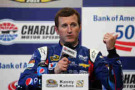 Kasey Kahne, DRIVER of the #5 Pepsi Chevrolet, speaks with the media after practice for the NASCAR Sprint Cup Series Bank of America 500 at Charlotte Motor Speedway on October 9, 2014 in Charlotte, North Carolina. - Photo Credit: Tim Bradbury/Getty Images