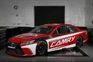 Salisbury, North Carolina USA The new 2015 Toyota Camry race car that will compete in NASCAR Sprint Cup Series competition beginning next season. ©2014, Michael L. Levitt LAT Photo USA for Toyota Racing