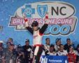 Brad Keselowski Wins Drive for the Cure 300