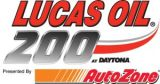 Lucas Oil 200 presented By AutoZone Logo