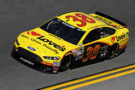 2015 NSCS Driver David Gilliland on track in the No. 38 Love's Travel Shops Ford Fusion - Photo Credit: Jared C. Tilton/Getty Images