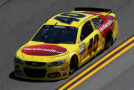2015 NSCS Driver Landon Cassill on track in the No. 40 Carforsale.com Chevrolett SS - Photo Credit: Chris Graythen/Getty Images