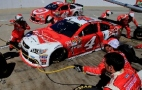 2015 NSCS Driver Kevin Harvick Pits the No. 4 Budweiser/Jimmy John's Chevrolet SS - Photo Credit: Daniel Shirey/Getty Images