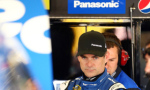 Jeff Gordon, driver of the #24 Panasonic Chevrolet, looks on in the garage area - Photo Credit: Ronald Martinez/Getty Images