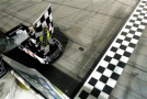 Erik Jones, driver of the #4 Special Olympics World Games Toyota, takes the checkered flag to win the NASCAR Camping World Truck Series American Ethanol 200 at Iowa Speedway on June 19, 2015 in Newton, Iowa. - Photo Credit: Tim Bradbury/Getty Images