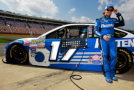 2015 NSCS Driver, Ricky Stenhouse Jr., stands next to his No. 17 Fastenal Ford Fusion - Photo Credit: Brian Lawdermilk/Getty Images