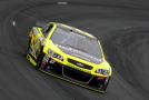 2015 NSCS Driver, Paul Menard on track in the No. 27 Richmond / Menards Chevrolet SS - Photo Credit: Jeff Zelevansky/Getty Images