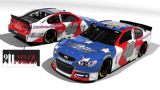 """2015 NSCS No. 40 Snap Fitness/Sterling Marlin """"God Bless America"""" Throwback Chevrolet SS"""