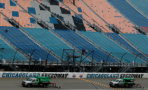 Track Drying at Chicagoland Speedway - Photo Credit: Sean Gardner/Getty Images